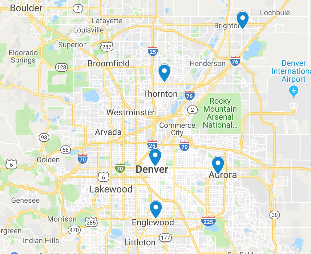 CVP Locations
