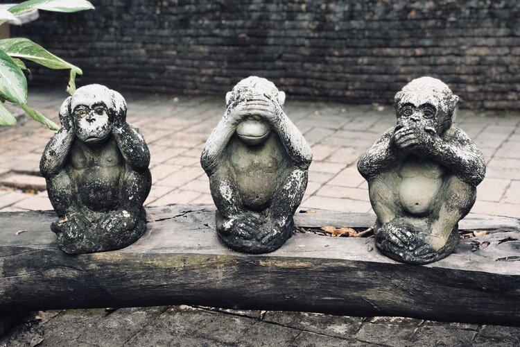 We need to break the see no evil, hear no evil, speak no evil approach to strategy obfuscation.