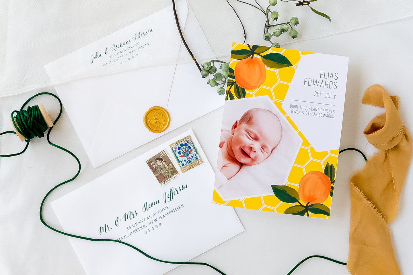 Birth Announcements Singapore
