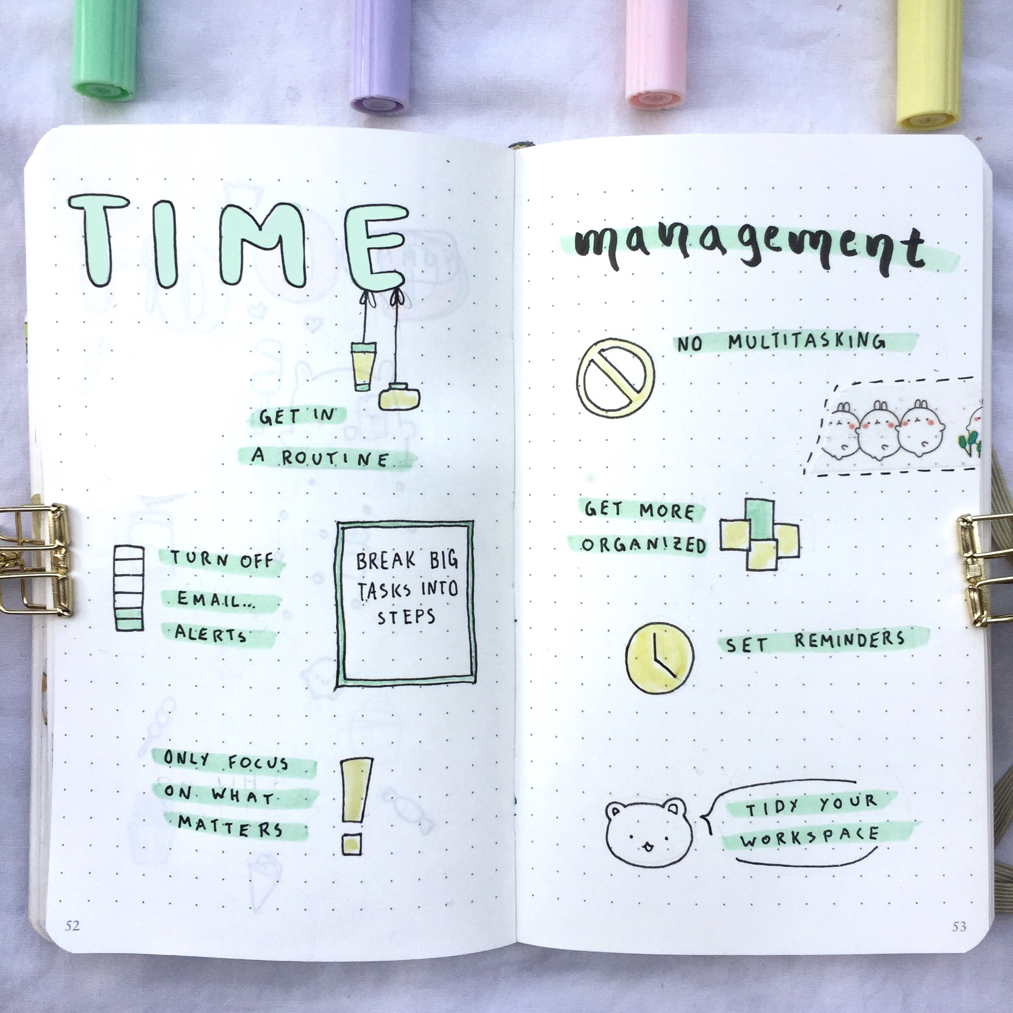 Marie shares simple and useful hacks to time management.