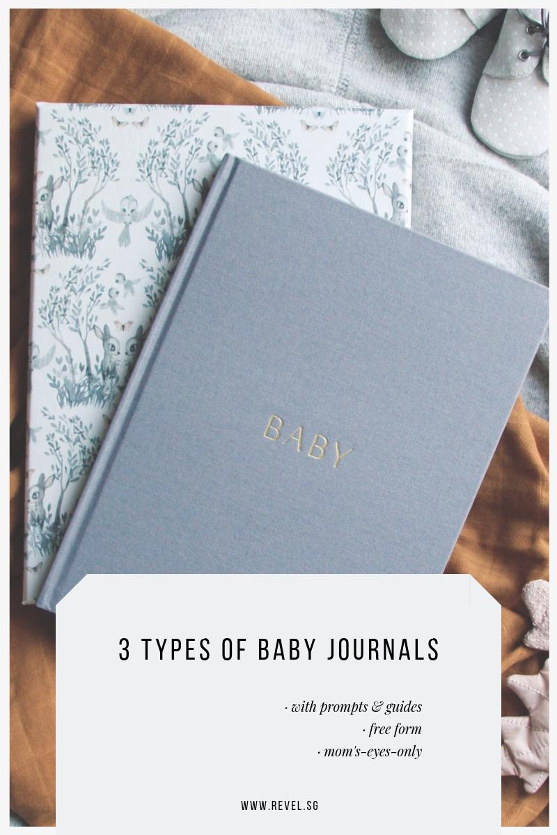 3 Types of Baby Journals