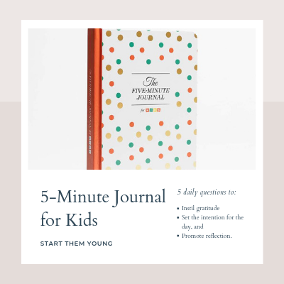 5 minute journal for kids revel