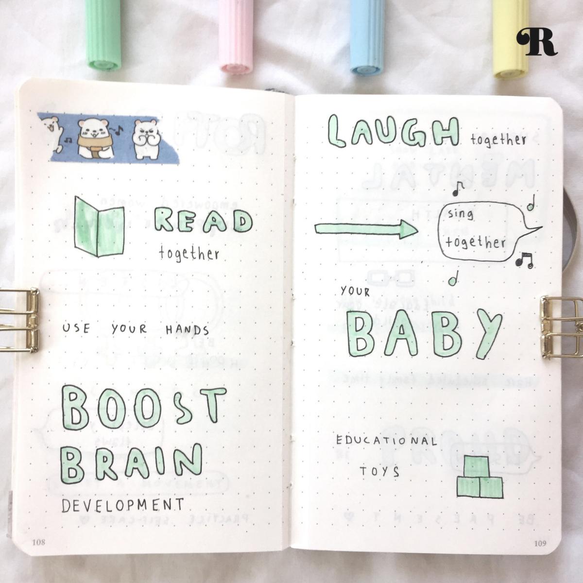 Every week, resident journal-artist Marie shares a peek into her inspiring journal works!