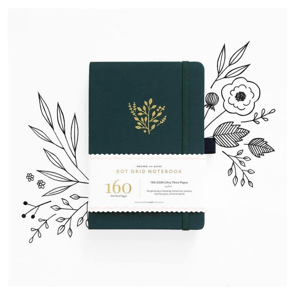Archer & Olive - From their divinely beautiful dot grid journals, sketchbooks, yearly planners to stickers and accessories. Shop Archer & Olive right here in Singapore!