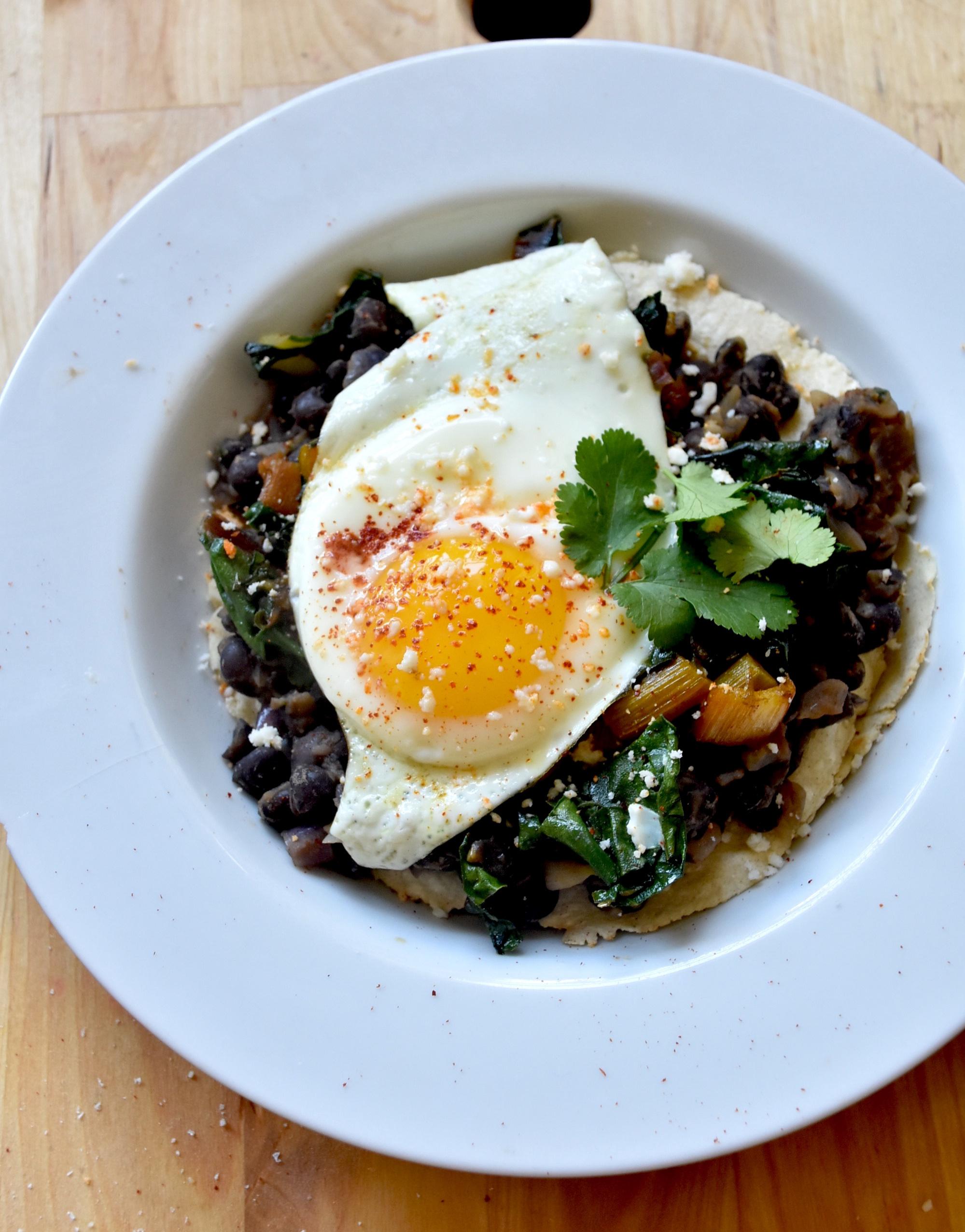 Huevos Rancheros - Breakfast bliss has arrived.