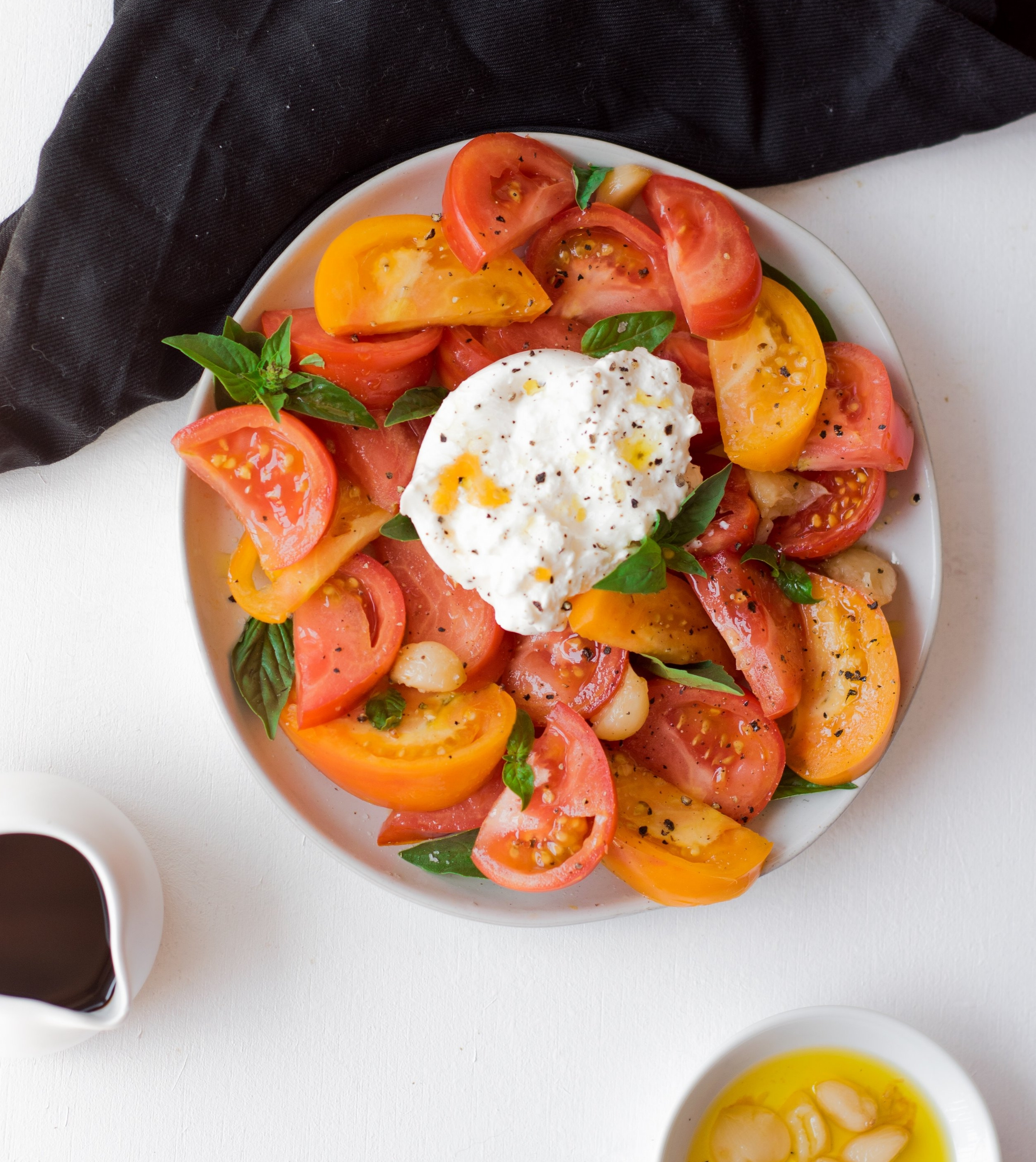 Best Tomato Summer Salad | shutupeatthis.com