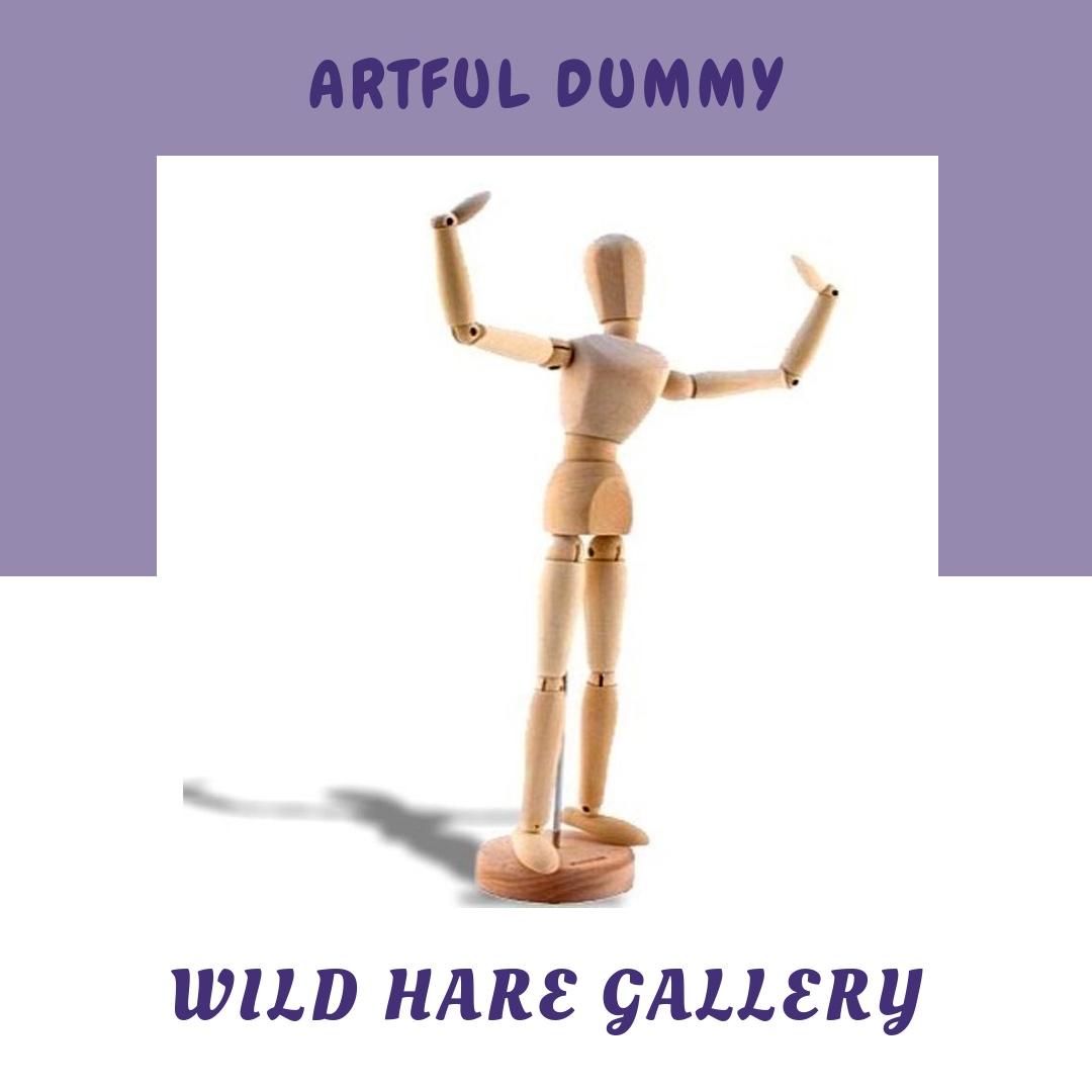 #artfuldummy - Design Your Own Art Doll