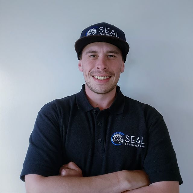 We would like to introduce you to our new teammate Jesse! Our little family is growing. Welcome to him.  #plumber #plumbers #gasfitter #gasfitters #auckland #aucklandcity #northshore #rodney #teammates