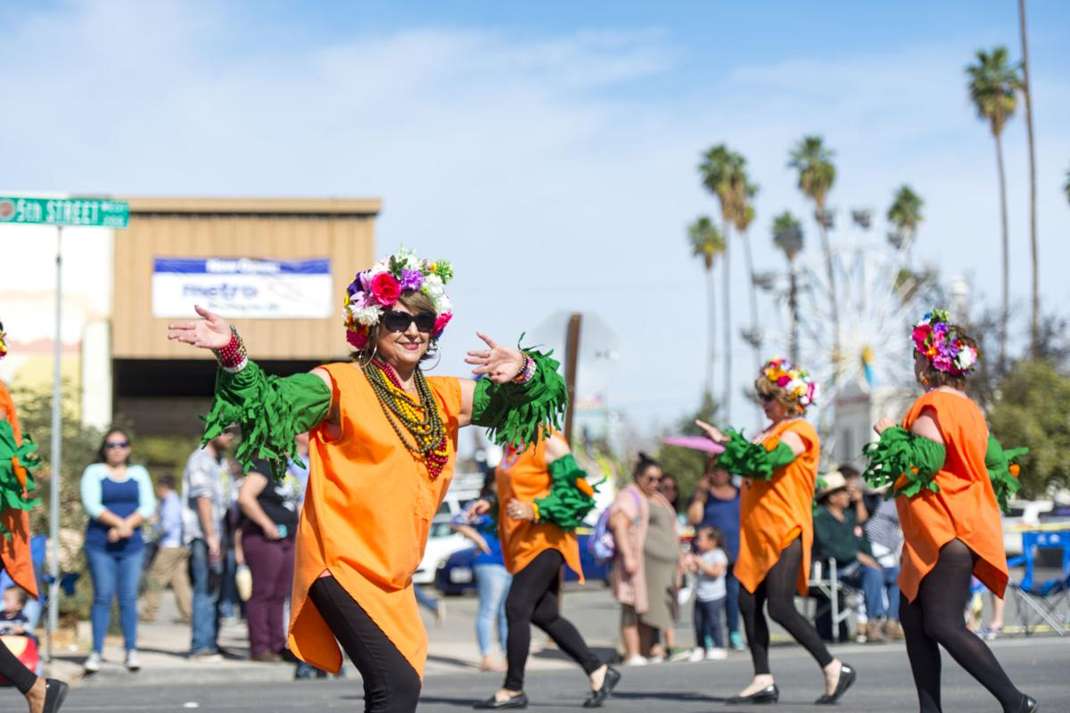 The 71st annual Holtville Carrot Festival parade in Holtville. VINCENT OSUNA PHOTO