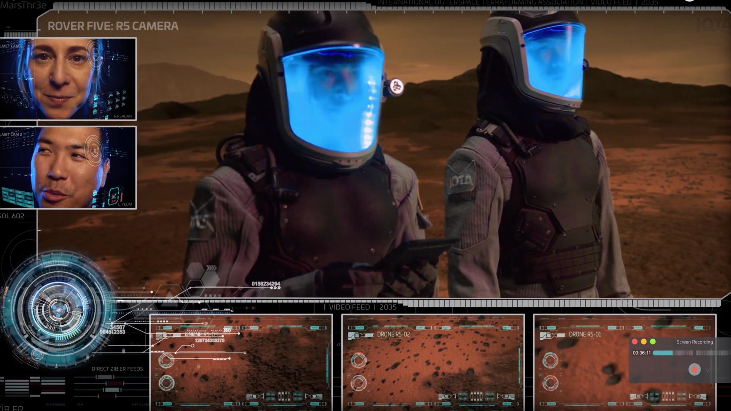 MARS THR3E -