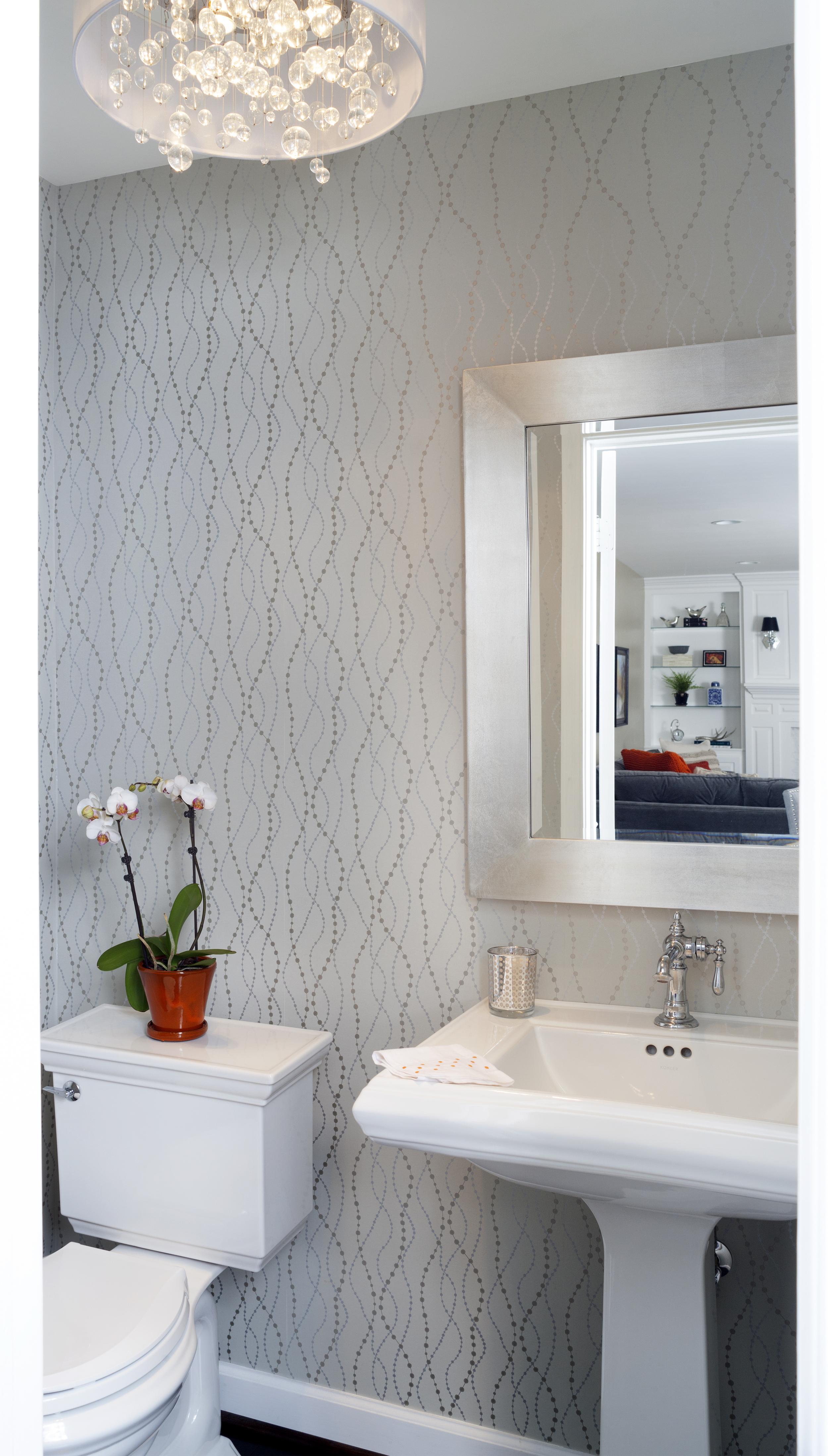Simple and Elegant Bathroom Interior Design