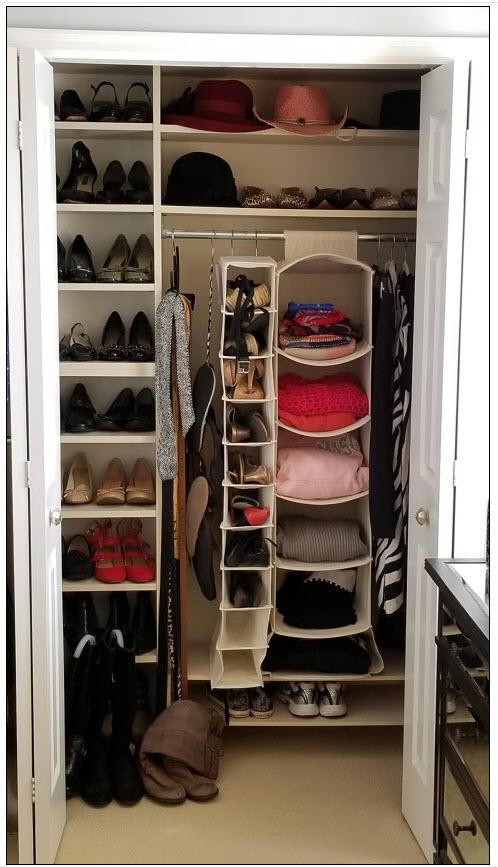 I had no idea I had so many shoes I was not wearing.