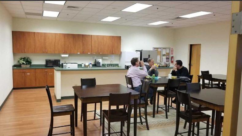 Kitchen/lunchroom - before