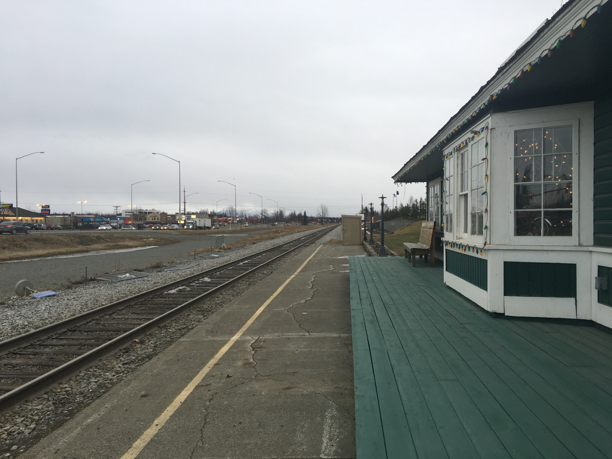 Wasilla Depot 100 years after construction.