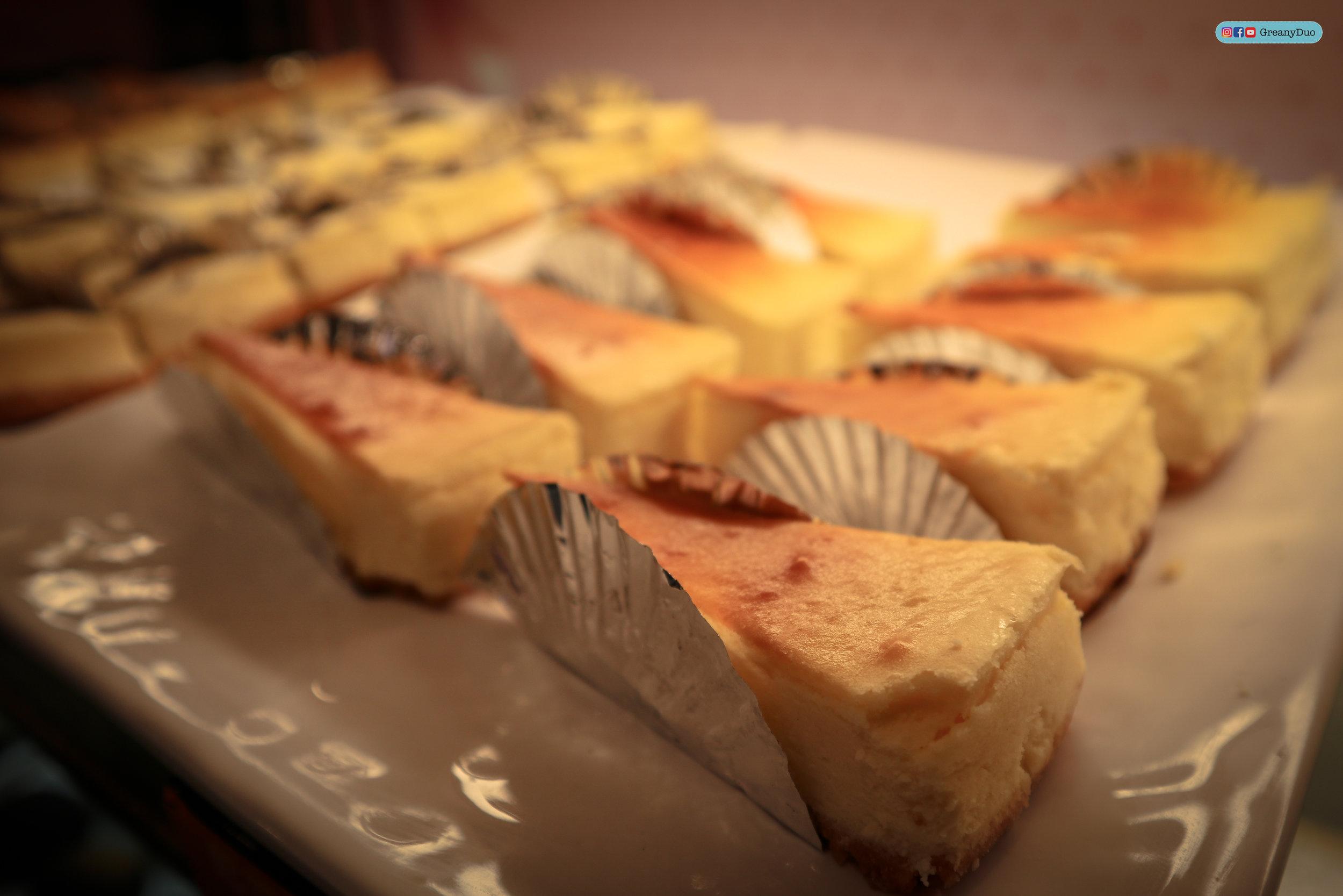 cheesecake at บุฟเฟ่ต์ชาบูไต้หวันที่ Hakkai Shabu Shabu ซีเหมินติง