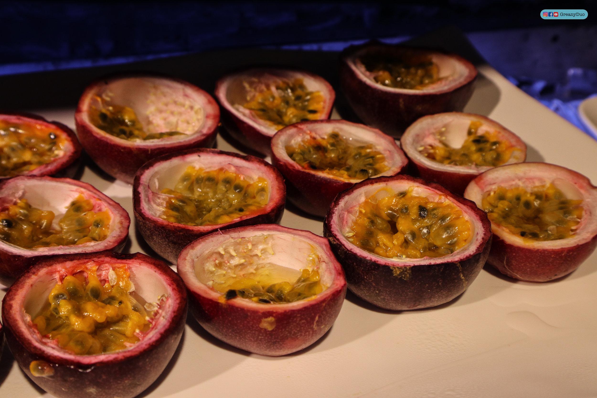 passion fruit at บุฟเฟ่ต์ชาบูไต้หวันที่ Hakkai Shabu Shabu ซีเหมินติง