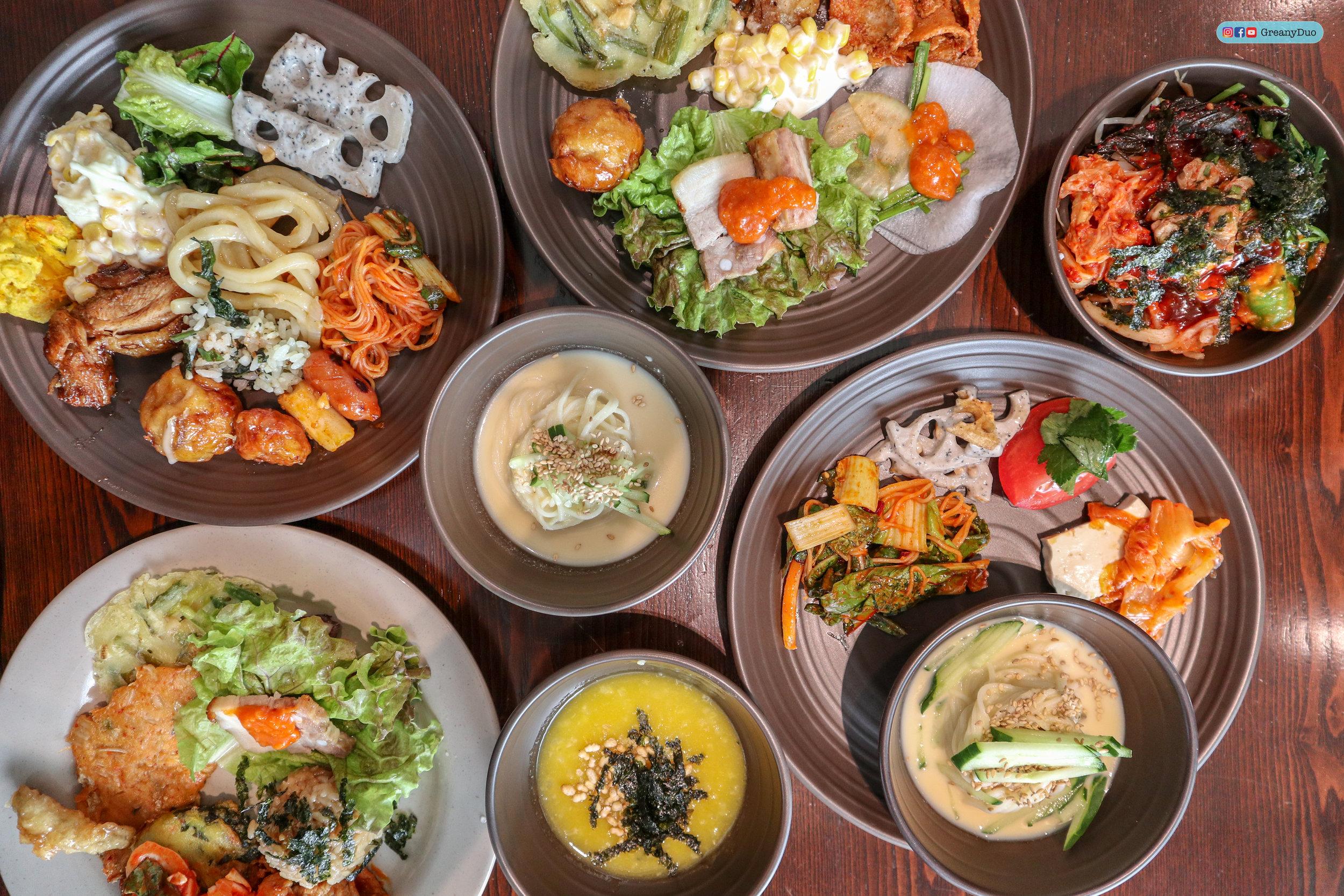 nature kitchen buffet, seoul korea