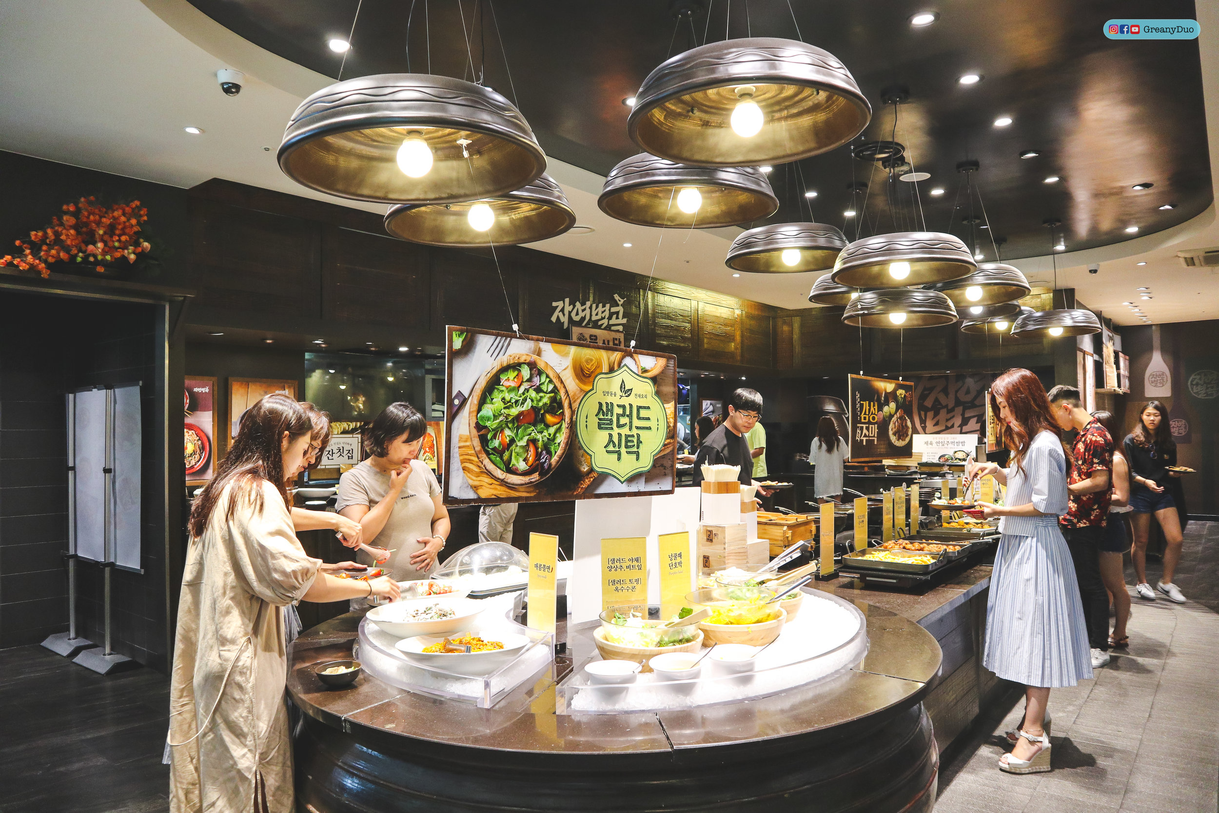 unlimited beer, nature kitchen buffet, seoul korea