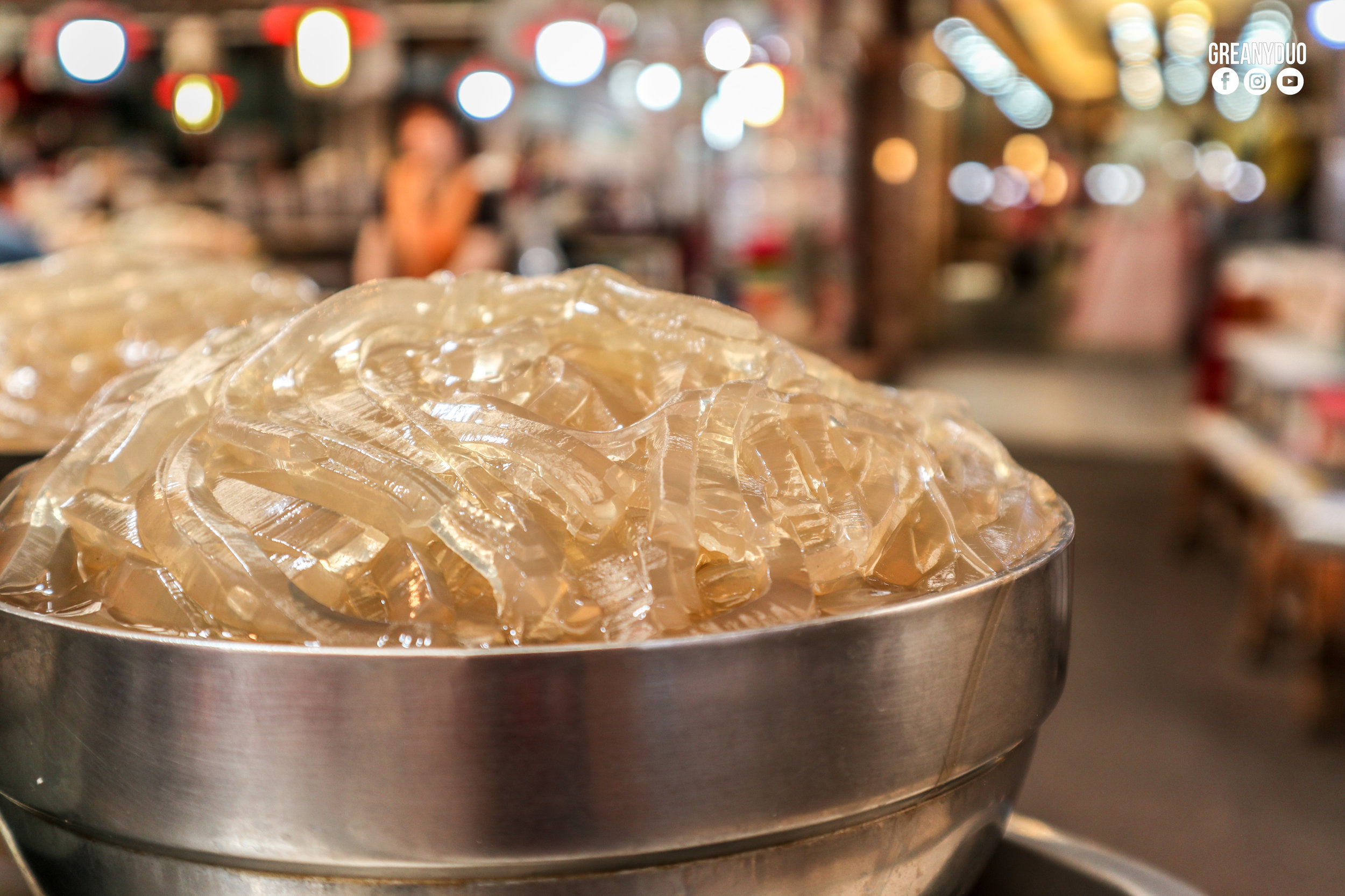 handmade noodle,ตลาดกวางจัง (Gwangjang Market)