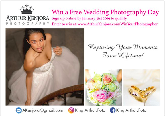 WIN YOUR PHOTOGRAPHER Contest Entry Form - Enter to receive 20% discount off an 8hr wedding photography package and for a chance to win a 3,000 CHF valued wedding photography package for FREE.