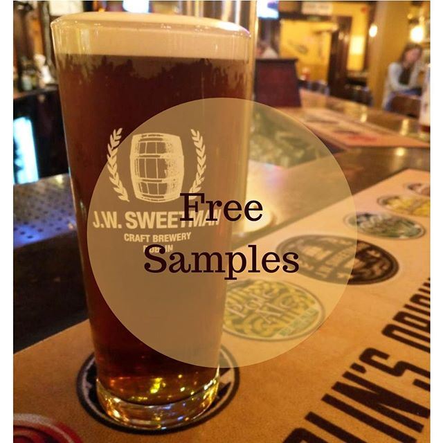Free samples of our new beer on the ground floor between 6 pm and 8 pm tomorrow (Thursday 20th). Don't forget to tell all your friends, pop on down and enjoy a proper beer.  Beer: Sweetmans Mild  Style: Nitro Red  Description: A style originally brewed to be consumed in large quantities by manual workers. Sweetmans Mild is an easy drinking, lightly hopped smooth creamy ale with a slight hint of chocolate.  ABV: 4.7% . . . . . . . #Dublin #CityCentre #DublinCity #VisitDublin #DiscoverDublin #DublinQuays  #JWSweetman #Sweetmans #SweetmansBrewery #SweetmansPub #JWSweetmansBrewery  #CraftBeer #Microbrewery #Irishbrewers #Crafties #IrishCrafties #CraftBeerIreland #DublinSnugs #DublinPubs #PubGrub #ComfortFood
