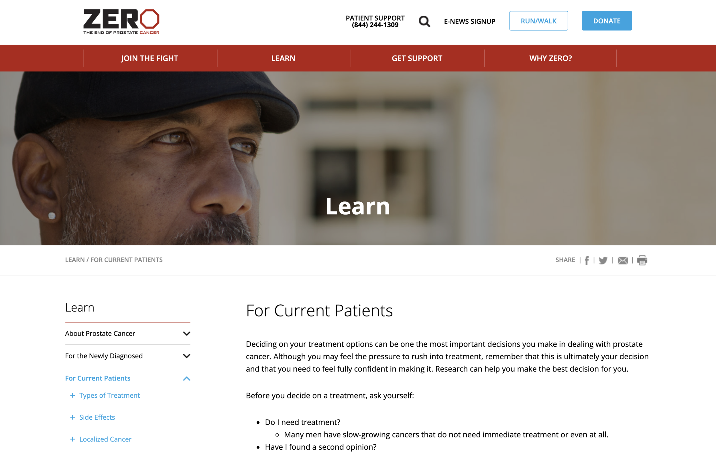 ZERO - The End of Prostate Cancer