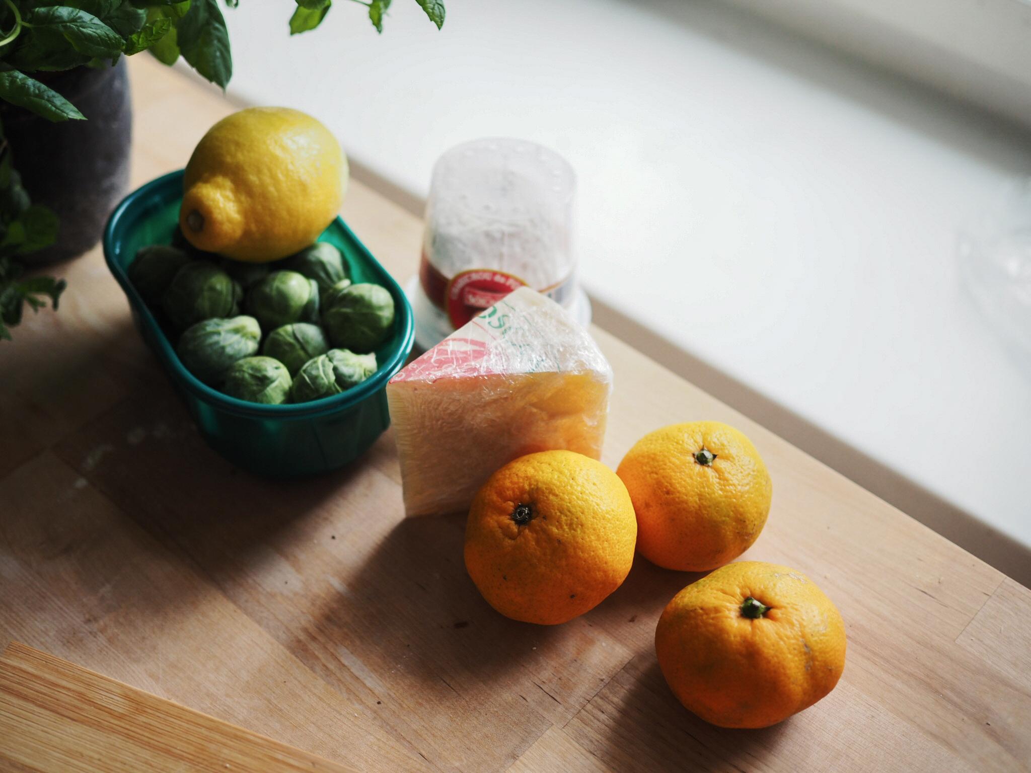 Parasta juuri nyt: satsumat ja ruusukaalit. Parasta aina: toscanalainen pecorino.