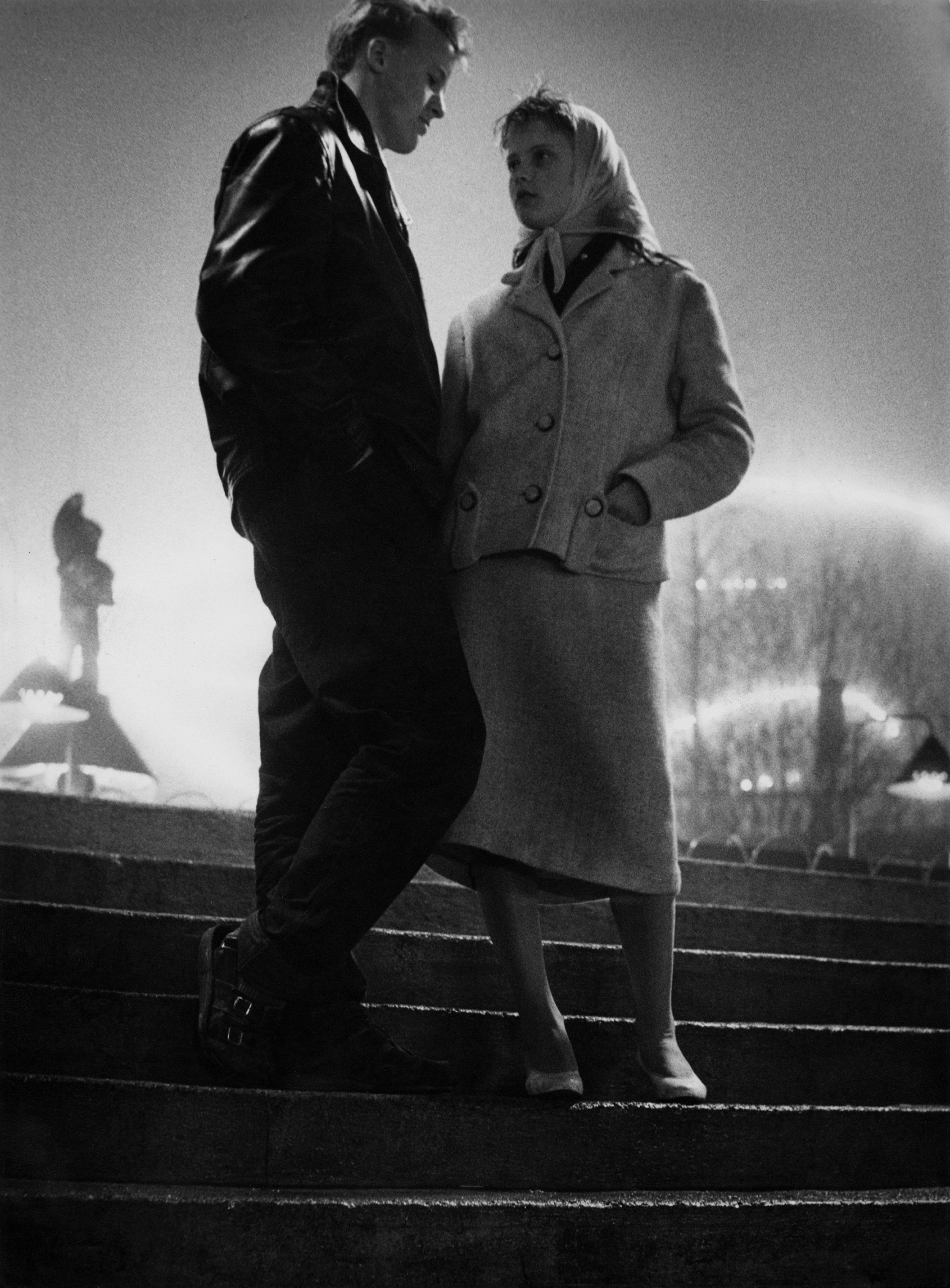 Nuoripari Linnanmäellä, 1954. Kuva: Eero Makkonen