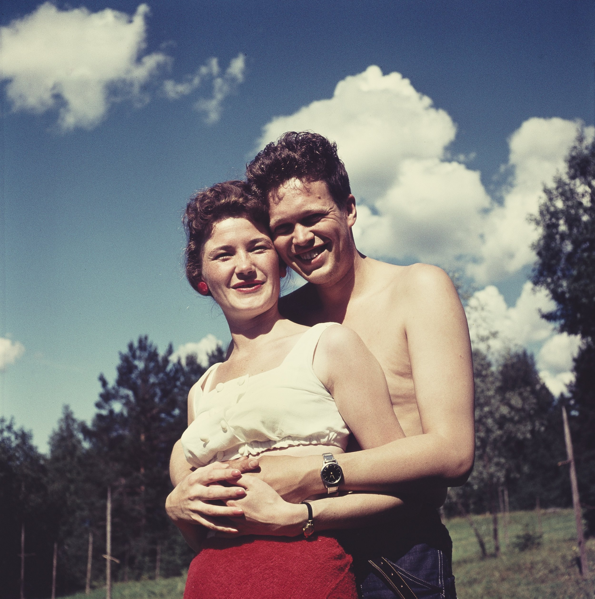 Pariskunta 1960-luvulla. Kuva: Juha Jernvall