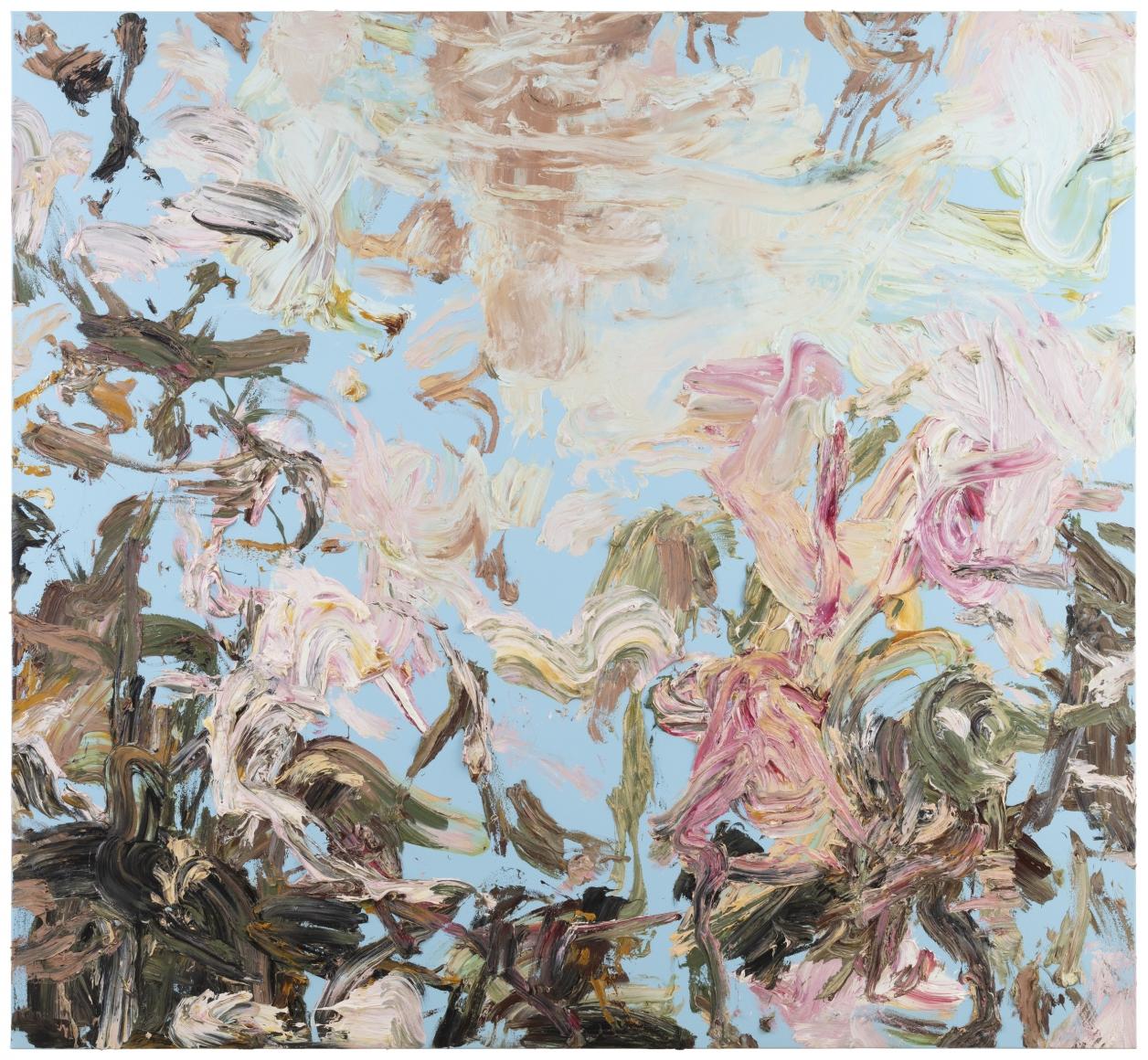 Heikki Marila: maalaus sarjasta B2, 2018. Kuva:    Galerie Forsblom