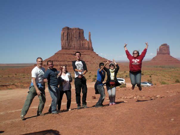 Travelling (and jumping) alone in America with the TrekAmerica gang.