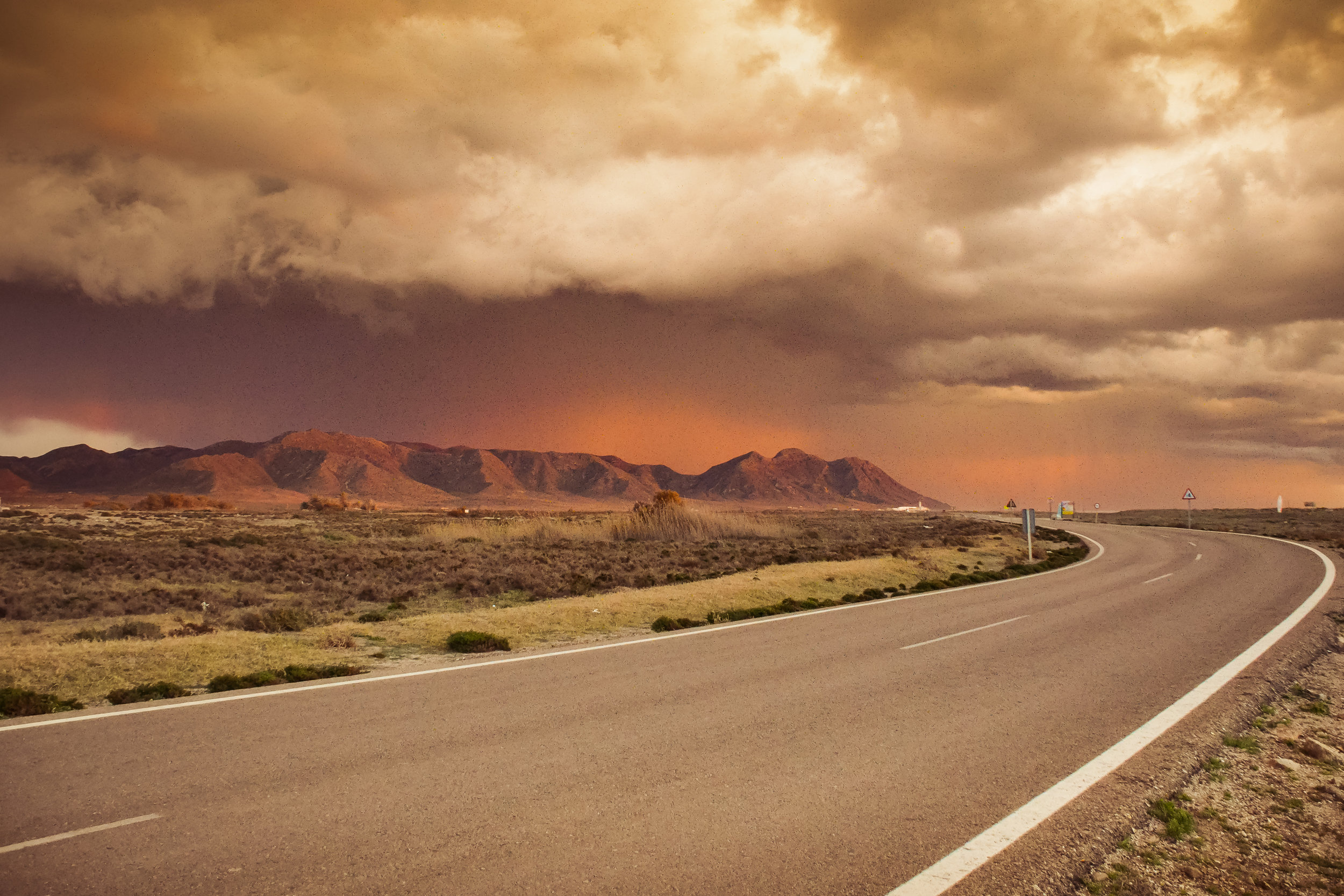 Cabo da Gata Road