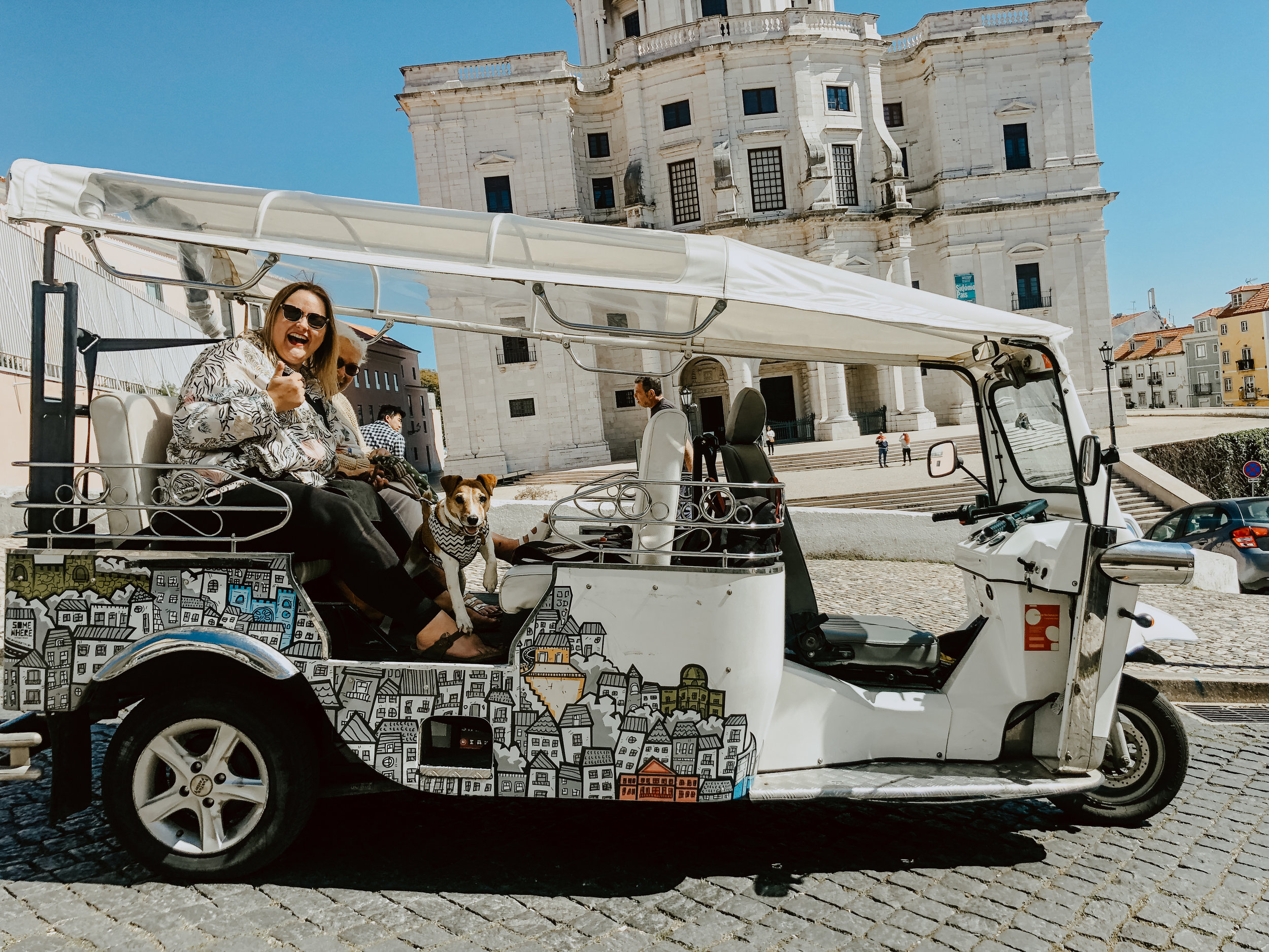 Tuk Tuk Tours in Lisbon