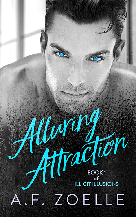 A.F. Zoelle's debut novel, Alluring Attraction, will soon be available for preorder! Please sign up below for our newsletter to stay up to date on the latest release schedule! -