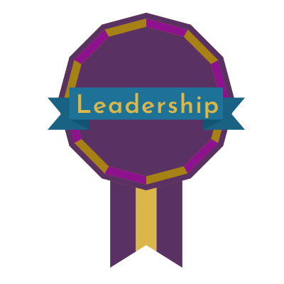 Recommended Award Message:  Congratulations! You have earned the Badge of Leadership. You have continuously maintained a grade of over 90% on all of your assignments.