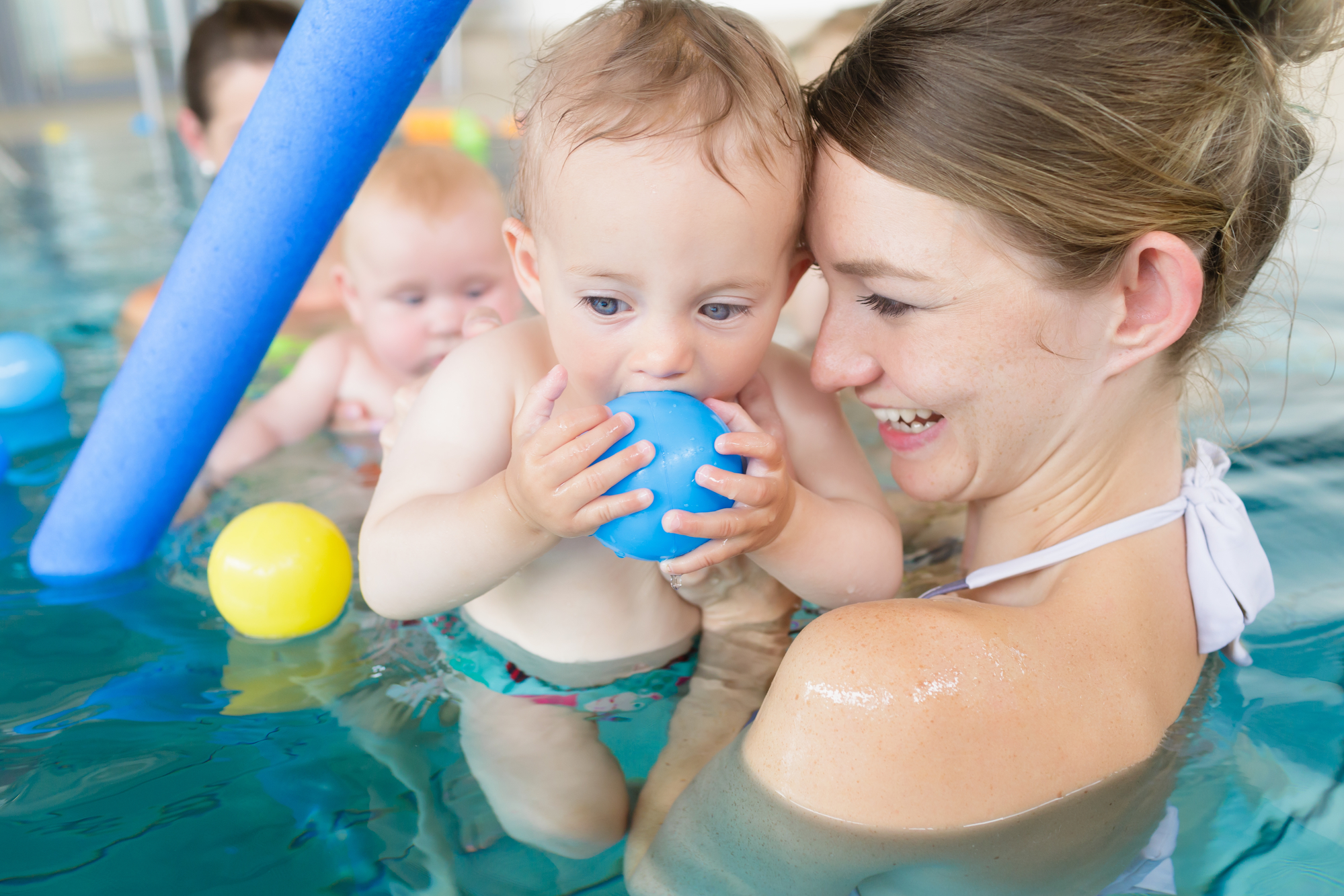 baby swimming lessons -