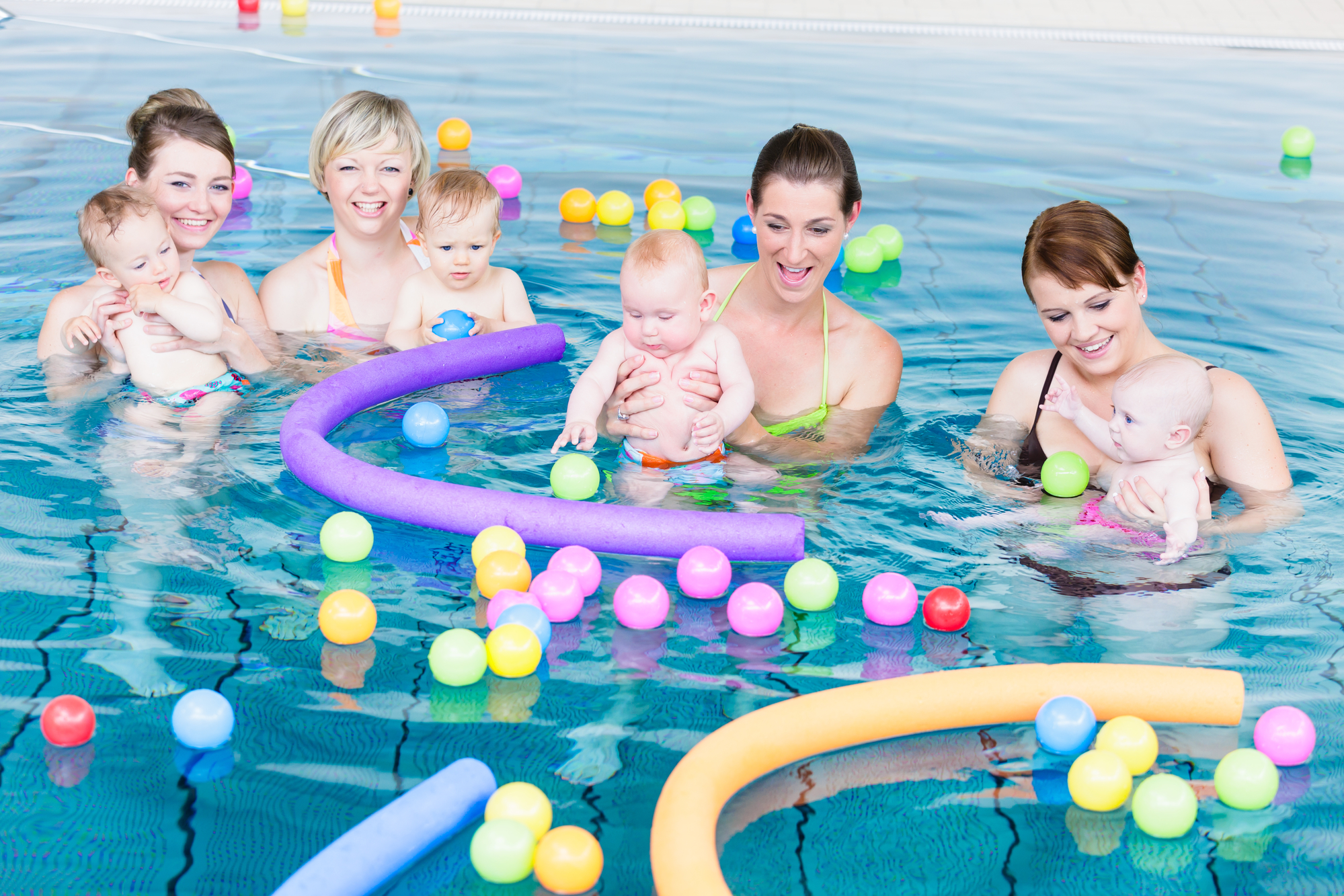 Frontier Baby Swimming - We use guided discovery, games, toys and songs to create the best swimming experience for your baby.This provides a fantastic source of stimulation for your baby's neurological and motor development. Babies have fantastic reflexes which make them naturals in the water.We use the STA Starfish series badge and certificate scheme to award your baby's progress