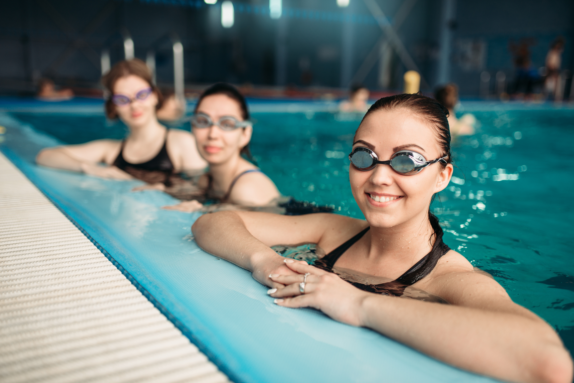 Frontier Adult Swimming - We use STA adult awards to grade your progress. Whether you're nervous in the water or a competent swimmer, we can help! All our instructors have years of experience and know how to progress your swimming.