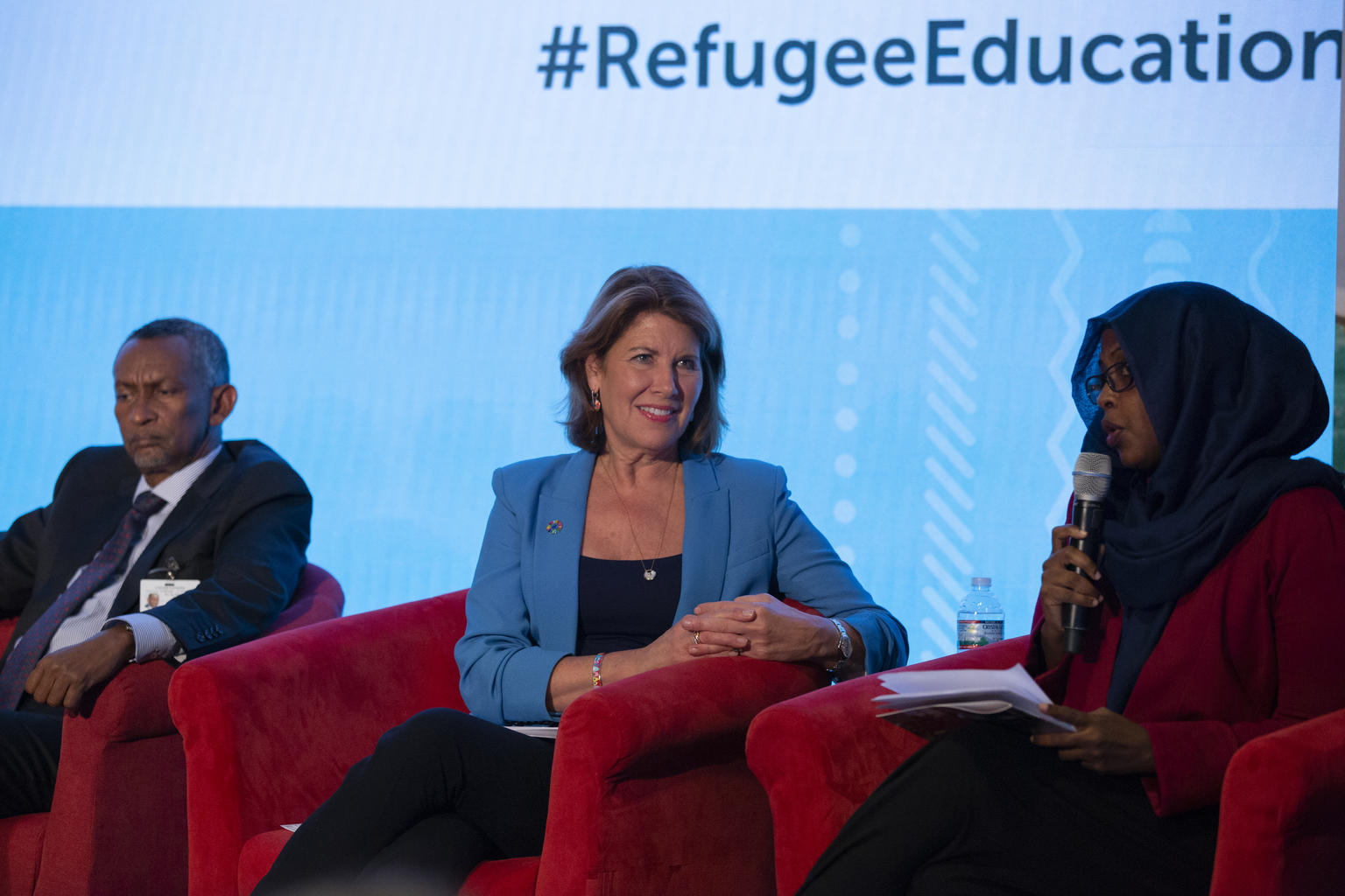 Panel discussion on the inclusion of refugees in national education systems