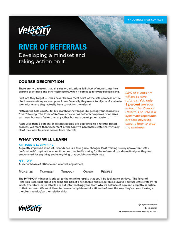 River of Referrals
