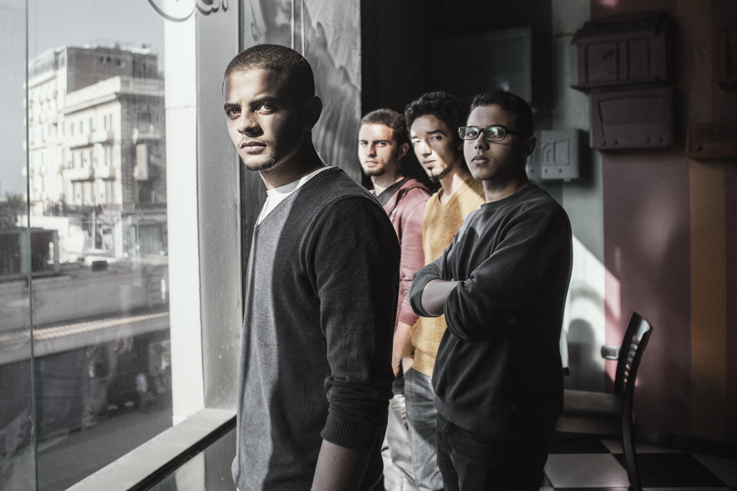 Wara2a b-100   Egyptian hip hop band