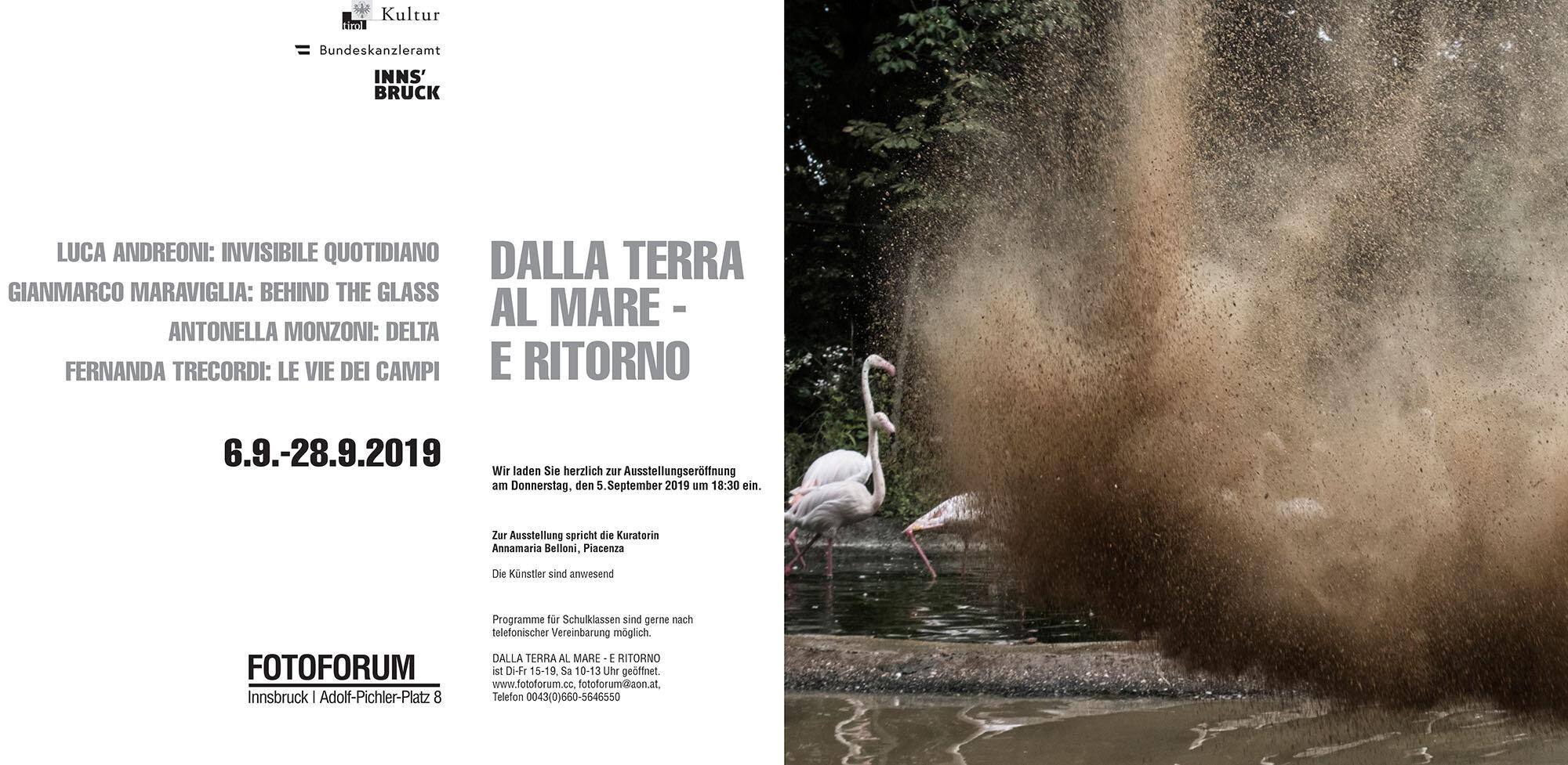 Dalla Terra al Mare e ritorno - Fotoforum GalleryInnsbruck | AustriaCuratoe: Anna Belloni