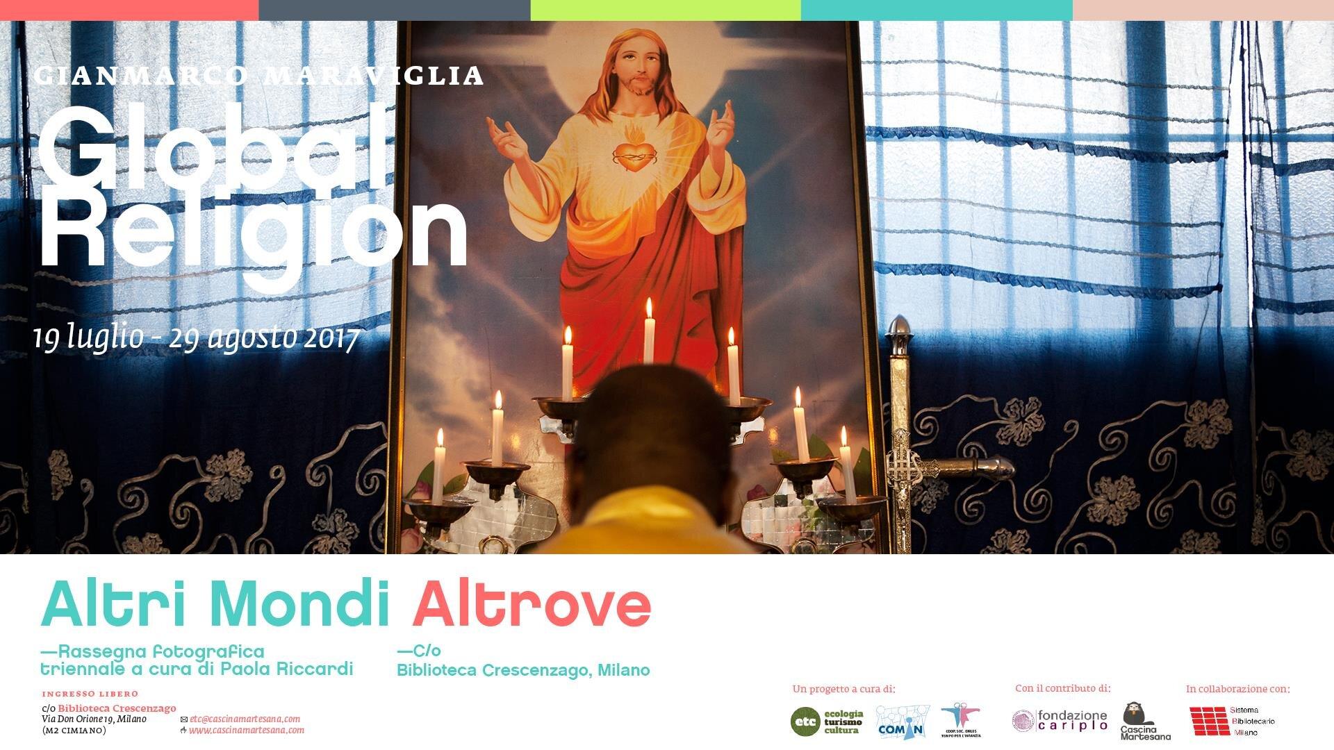 Global Religion - El Bagnin de Gorla GalleryMilan | ItalyCurator: Paola Riccardi