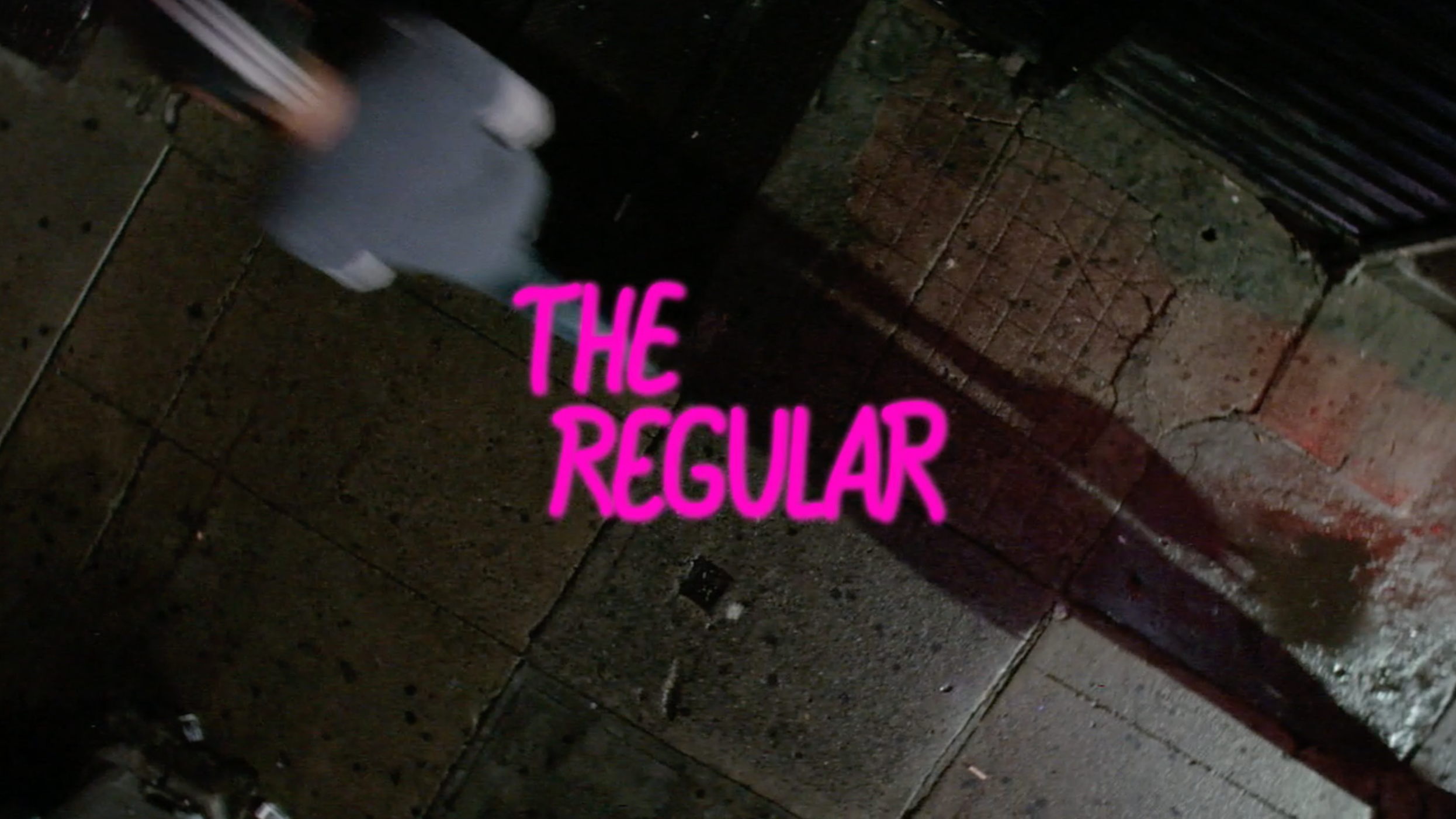 THE REGULAR - SHORT FILM