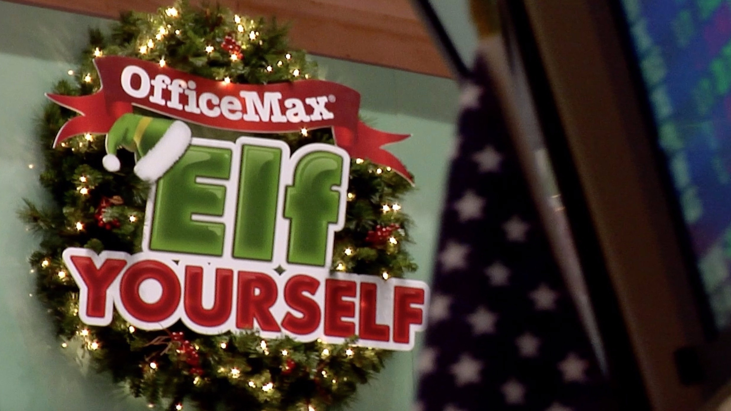 OFFICE MAX: ELF YOURSELF NYSE - ONLINE COMMERICAL