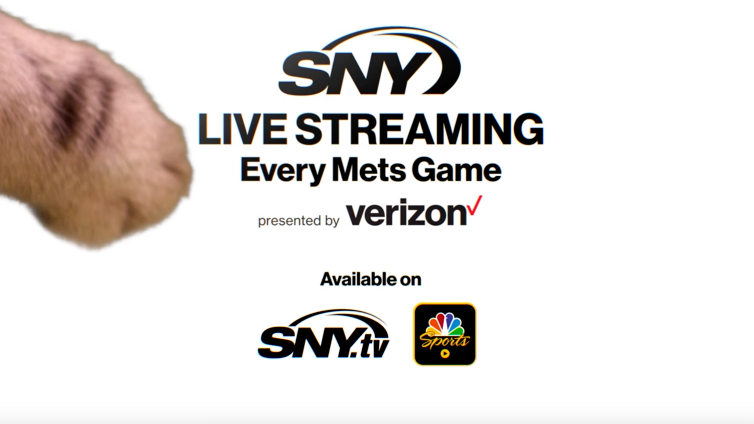 SNY Streaming/verizon - COMMERCIAL