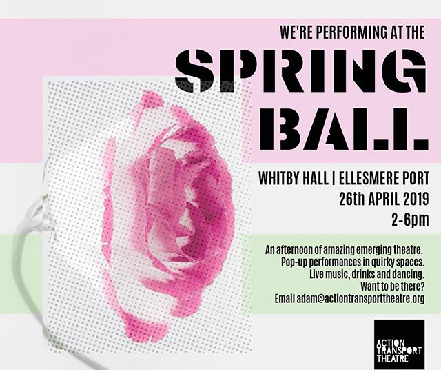 We're very much looking forward to being part of the #Springball @actiontransporttheatre on Friday. Great chance to share our work & see what other artists are getting up to. Still tickets available, contact adam@actiontransporttheatre.org #emergingtheatre #wordstoourdaughters #womenintheatre