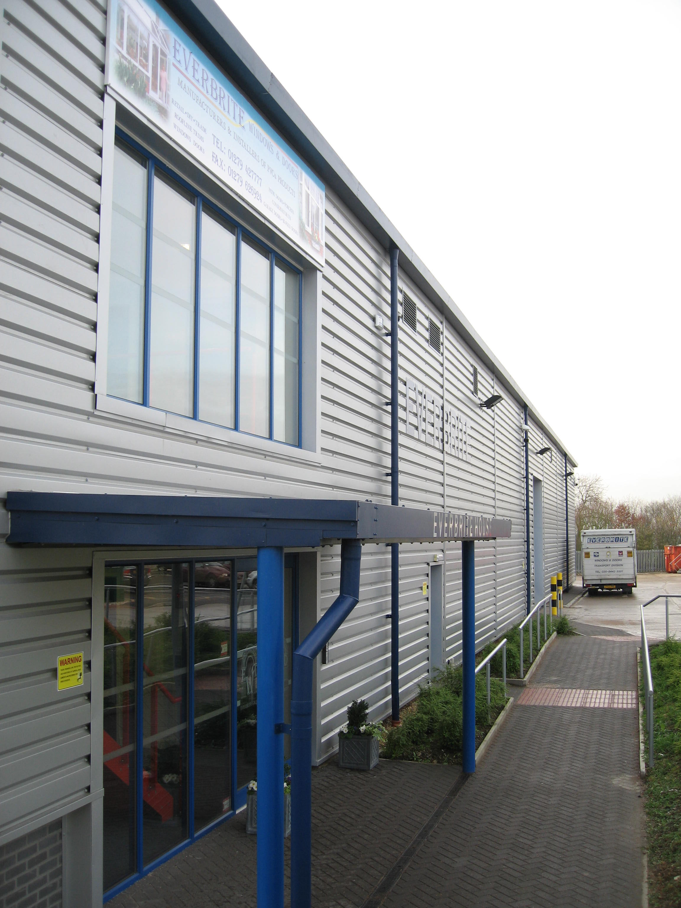 Our Purpose Built 20,000 sq/ft Factory In Harlow.