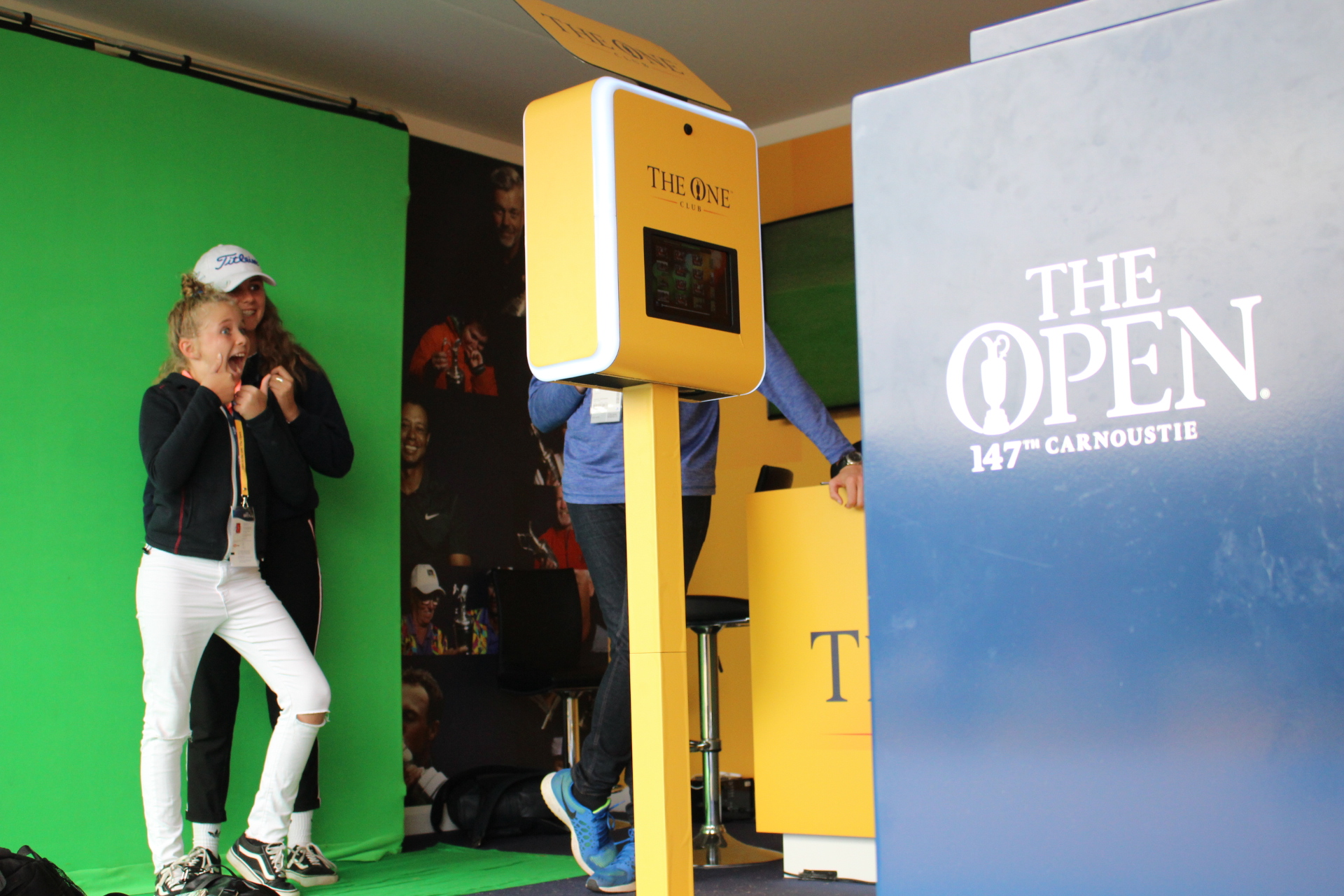 Custom Photo Experience for The Open