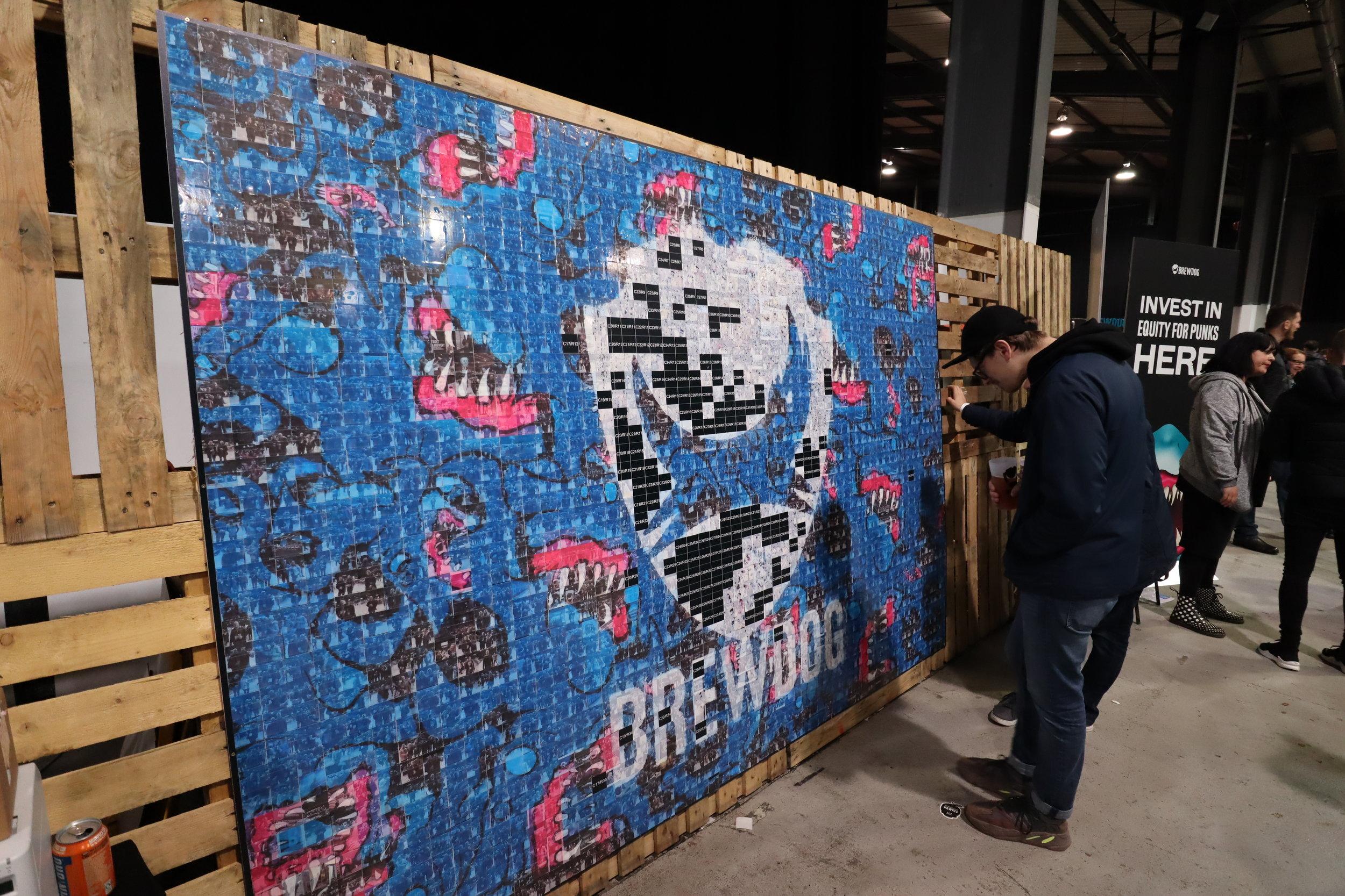 Brew Dog social mosaic